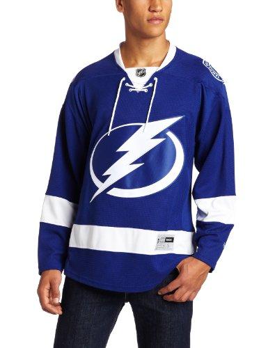 NHL Men's Tampa Bay Lightning Reebok Edge Premier Team Jersey - 7185A5Lshpjtbl (Blue, XX-Large)