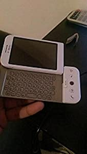 T-Mobile G1 - Smartphone - 3G - WCDMA (UMTS) / GSM - touch / slide-out keyboard - Android - white - T-Mobile