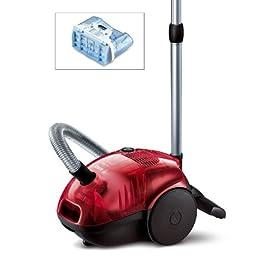 bosch bsd 3081 aspirateur avec ou sans sac 32kpa 2000 w rouge aspirateurs. Black Bedroom Furniture Sets. Home Design Ideas