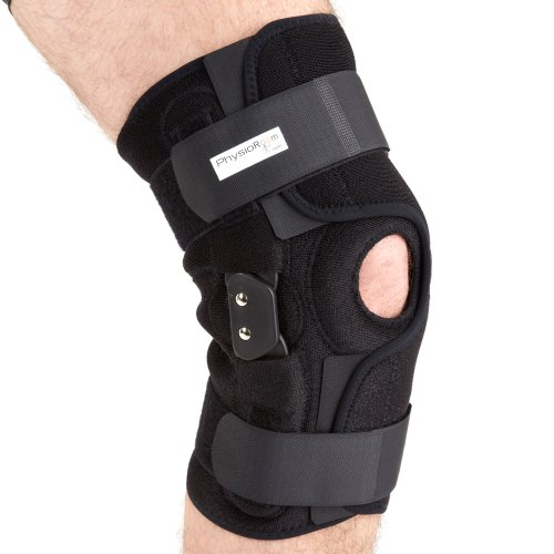 PhysioRoom Elite Hinged Knee Brace ACL Ligament Knee Support