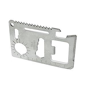 10-in-1 Multi-function Survival Wallet Tool