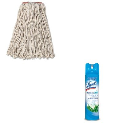 KITRAC76938EARCPF11612 - Value Kit - Rubbermaid Premium Cut-End Cotton Wet Mop Head (RCPF11612) and Neutra Air Fresh Scent (RAC76938EA) kitcox70427sfc023803 value kit naturehouse fresh nap moist towelettes sfc023803 and glad forceflex tall kitchen drawstring bags cox70427