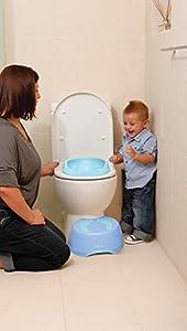 DreamBaby - Reductor higiénico suave, azul (azul) marca Dreambaby - BebeHogar.com