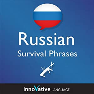Learn Russian - Survival Phrases Russian, Volume 1 Audiobook