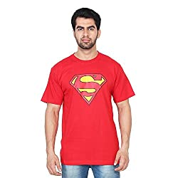 Trenders Round Neck Red Color T shirt with Superman print
