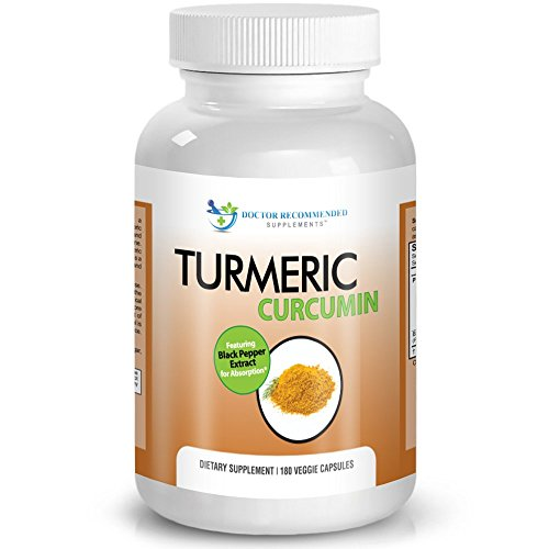 Turmeric-Curcumin-2250mgd-180-Veggie-Caps-95-Curcuminoids-with-Black-Pepper-Extract-Piperine-750mg-capsules-Most-powerful-Turmeric-Supplement-by-Doctor-Recommended
