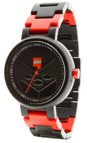LEGO Midsize 340826 Classic Stud Brick Black Watch