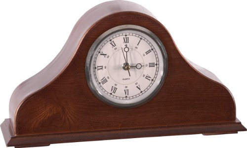 American Furniture Classics 101 Remington Mantel Clock, Brown Cherry