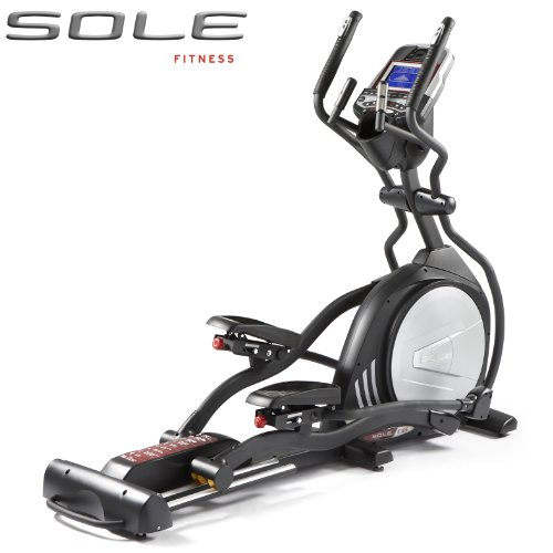 Sole E55 Elliptical Cross Trainer Light Commercial with Incline - Mp3/Ipod Speakers with Light Commercial Warranty