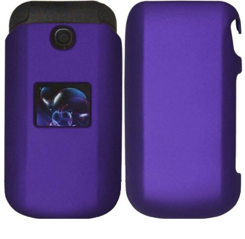 Purple Hard Case Snap On Protector Cover For Lg Envoy 2 Un160