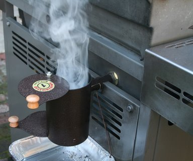 Smokemiester BBQ Pellet Smoker for Gas or Charcoal Grills, the Smoker That Really Works