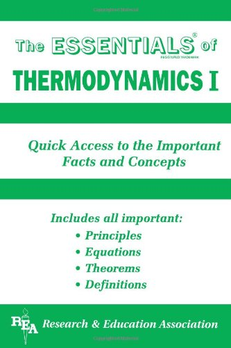 Thermodynamics I (Essentials)