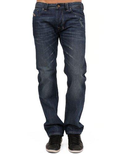 Diesel Larkee 882w Straight Blue Man Jeans Men - W36l32