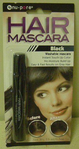 Hair Mascara Instant Touch up Color Fast Results on Gray Hair