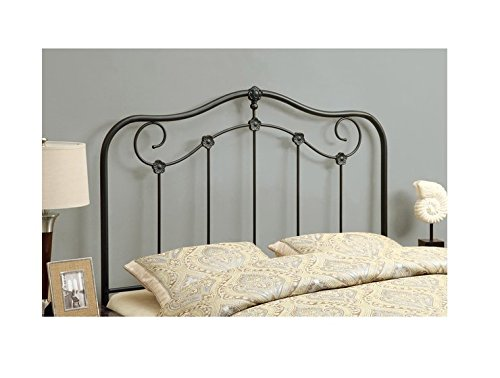 Coffee Queen/Full-Size Versatile Metal Bed Headboard