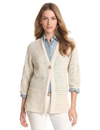 美国大牌Pendleton女士冬季开衫毛衣 Vanilla色 $30.12