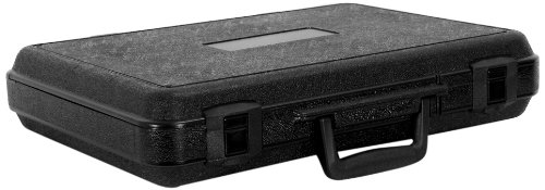 Cases By Source B15103 Blow Molded Empty Carry Case, 15.99 x 11 x 2.875, Interior
