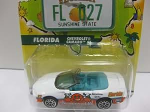 Birthday Series - FLORIDA - CHEVY CAMARO SS by Mattel: Toys & Games