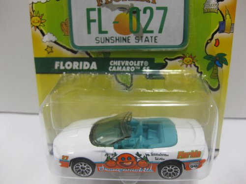 Matchbox Across America 50th Birthday Series - FLORIDA - CHEVY CAMARO SS by Mattel