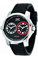 Sector Men's Quartz Watch with Black Dial Analogue Display and Black Leather Strap R3251189003