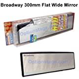 Broadway Rear View Mirror (300mm Flat)