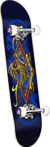 Powell Golden Dragon Diamond Dragon Complete Skateboard (7.5-Inch)