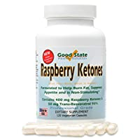 Raspberry Ketones Formula - 120 Vegetarian Capsules - 400 mg. per capsule (120)
