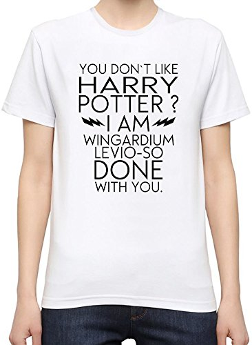 I Don't Like Harry Potter Funny Slogan T-Shirt per Donne Small