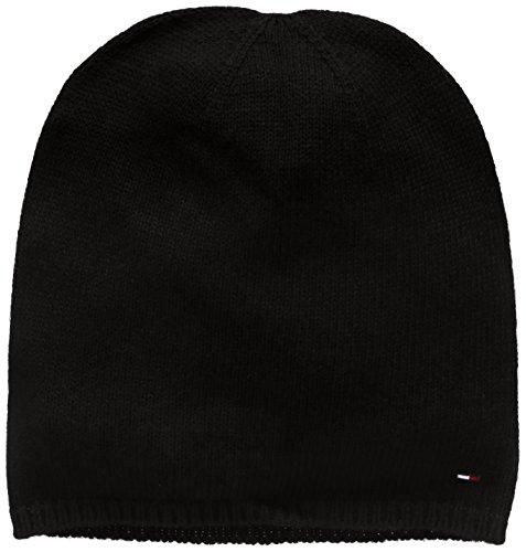 Tommy Hilfiger Thdm Sweaterknit Hat 19, Berretto Uomo, Nero (Tommy Black 078), One Size (Taglia Produttore:OS)