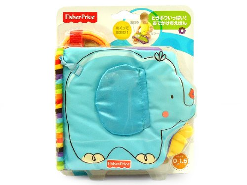Mattel T9239 - Fisher-Price Baby booklet Zoo