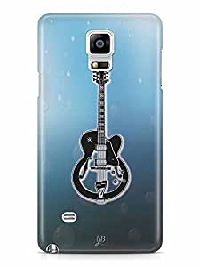 YuBingo The Guitar Designer Mobile Case Back Cover for Samsung Galaxy Note 4