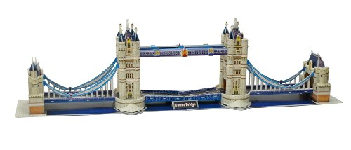 卡乐宝diy立体拼图—英国伦敦双子桥2804c图片