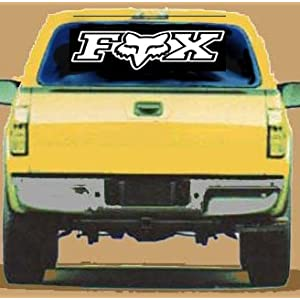 Giant FOX Racing Vinyl STICKER / DECAL for Cars,Trucks,Trailers,Etc. 3' Long (3 Feet)