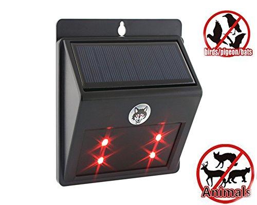 solar-animal-repellent-led-light-with-waterproof-motion-sensor-ultrasonic-deterrent-scarer-black-vso
