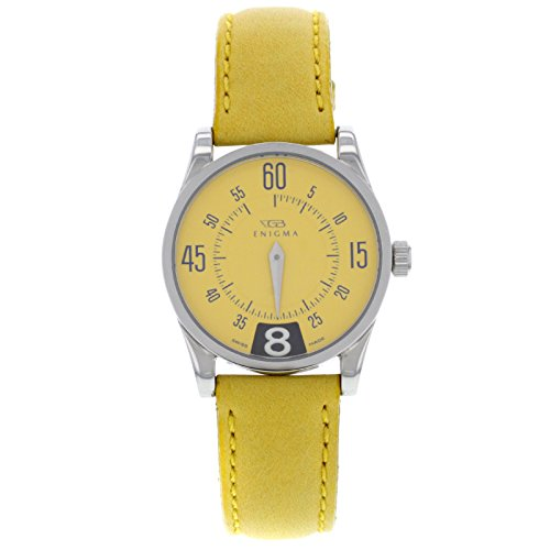 Enigma by Gianni Bulgari 115201S Stainless Steel Yellow Quartz Ladies Watch