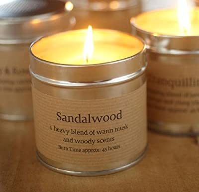 St Eval Scented Candle Tin - Sandalwood from St Eval