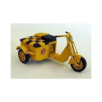 Maquette US scooter sidecar, 2ème GM