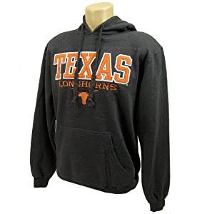 Texas Longhorns Official NCAA L Pullover Fleece Hooded Sweatshirt by Majestic