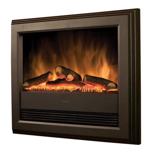 Dimplex, BACH LOG EFFECT WALL MOUNTED FIRE WITH REMOTE
