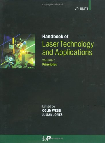 Handbook of Laser Technology and Applications. - Applications