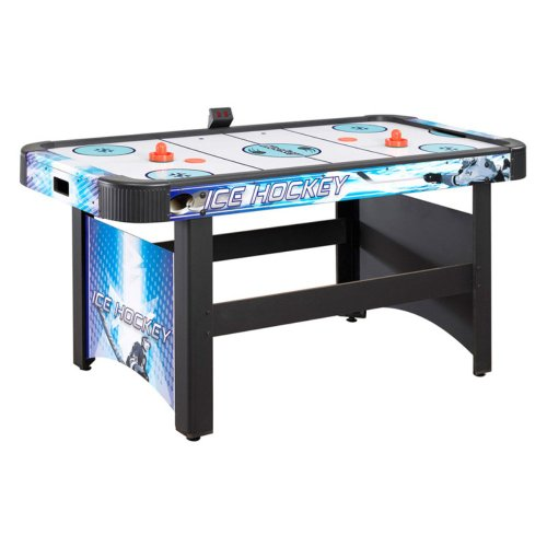 Hathaway 5 ft. Face-Off Air Hockey Table with Electronic Scoring
