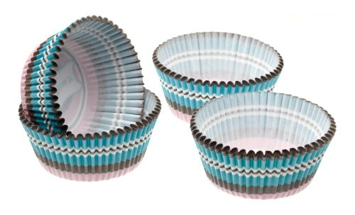 Kitchen Craft - Capsulas Mini Cupcake Circulos (4,5 Cm), 80 Unids