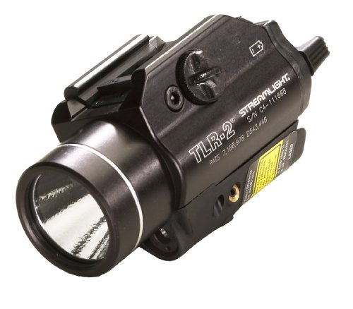 Streamlight 69120 Tlr-2 C4 Led With Laser Sight Rail Mounted Weapon Flashlight Black from Streamlight Inc