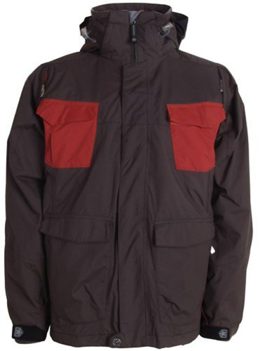 Sessions Combaticon Ski Snowboard Jacket Hershey Sz M