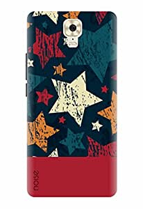 Noise Designer Printed Case / Cover for Gionee M6 Plus / Patterns & Ethnic / Geometric Stars Design
