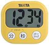 TANITA でか見えタイマー マンゴーイエロー TD-384-MY