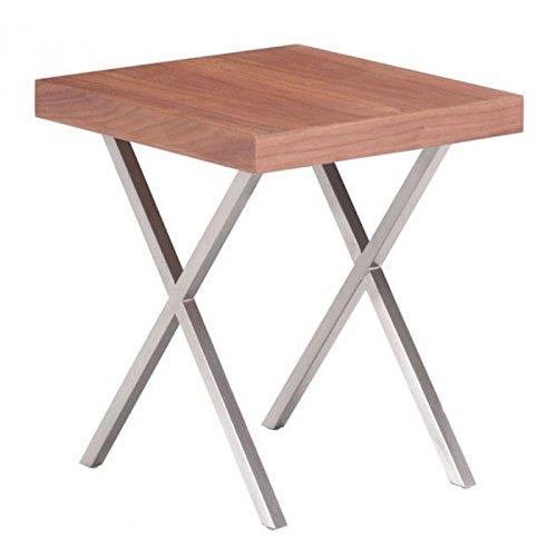 Renmen Wooden Side Table by Zuo Modern