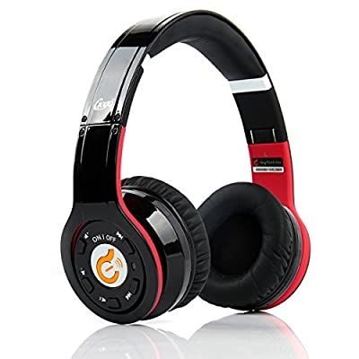 Beteran Syllable G08 Miracle Bluetooth 2.4+EDR Wireless Active Noise Reduction Super Bass Multitfunction Foldable Portable Stereo HD Voice Studio DJ HIFI Headset Headphone Earphone with Dual MicPhone for Iphone Samsung HTC Lg Blackberry (Black)