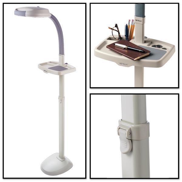 Amazon Com Verilux Easyflex Natural Spectrum Deluxe Floor Lamp Ivory Health Amp Personal Care