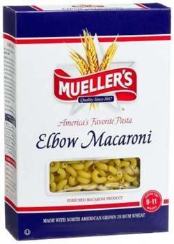 Mueller's Elbow Macaroni Pasta 12 oz